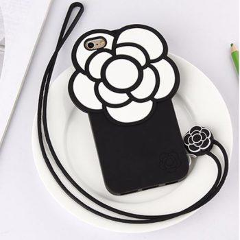Чехол для IPhone 7 Цветок белый 3D