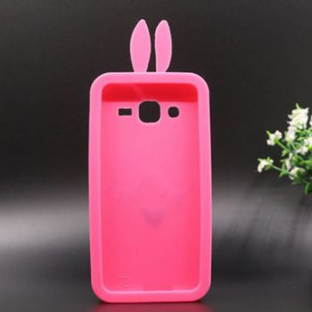 Чехол для Samsung J2 J200 Грустный кролик 3D