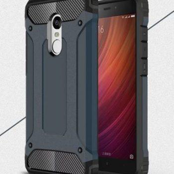 """Бронированый чехол для Xiaomi Redmi Note 4 """"Armor"""" серый"""