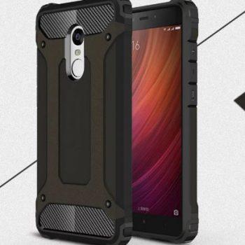 """Бронированый чехол для Xiaomi Redmi Note 4 """"Armor"""" черный"""