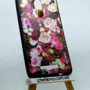 """Силиконовая накладка Remax """"Flowers Rose"""" для Xiaomi Redmi Note 3"""