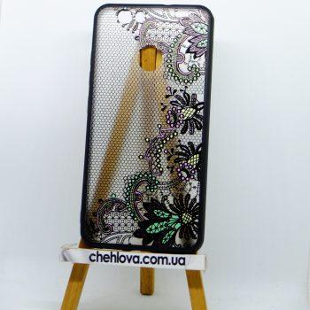 Чехол для Xiaomi Redmi Note 5a Prime Rock Tatoo Art Case Color Flowers