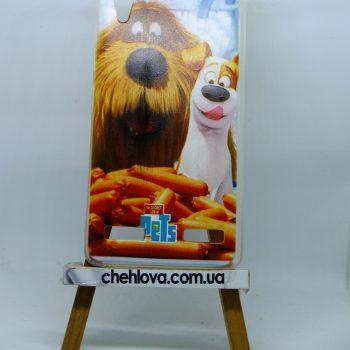 Чехол для Lenovo A6000 Pets Max & Duke