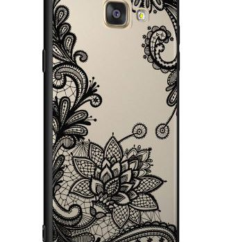 "Чехол для  Samsung A5 (2016) A510 Luoya Flowers ""Magic flowers"""