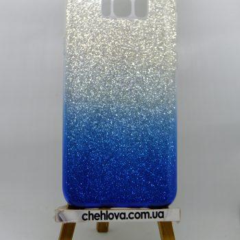 "Чехол для Samsung S8 ""TWINS"" Ambre синий"