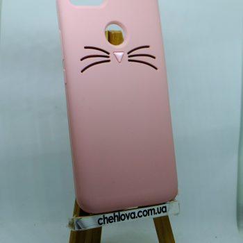 Чехол для Xiaomi Redmi Note 5A Prime Кот розовый 3D