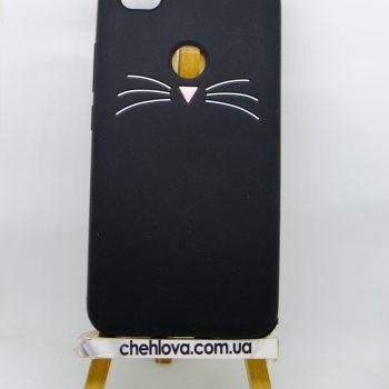 Чехол для Xiaomi Redmi Note 5A Prime Кот черный 3D