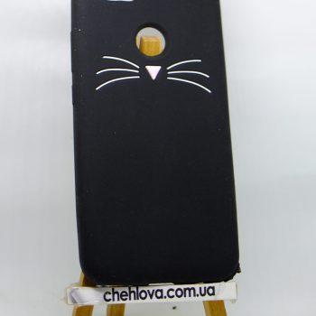Чехол для Huawei Nova 2 Кот черный 3D