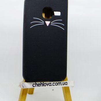 Чехол для Samsung J1 mini  J105  Кот черный 3D