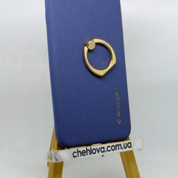 Чехол Spigen кольцо iPhone 7 (Синий)