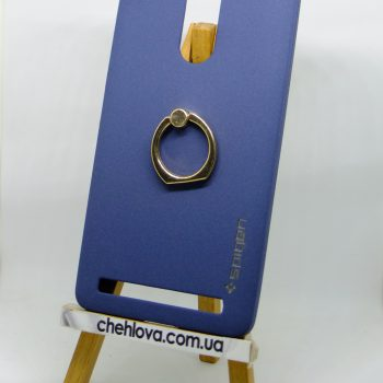 Чехол Spigen кольцо Lenovo A7020 (Синий)