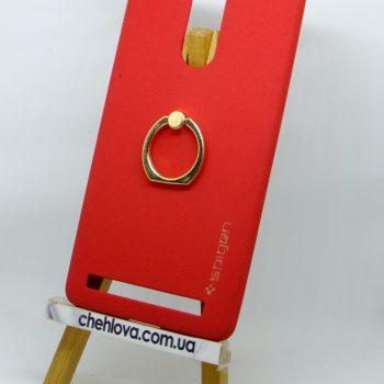 Чехол Spigen кольцо Lenovo A7020 (Красный)