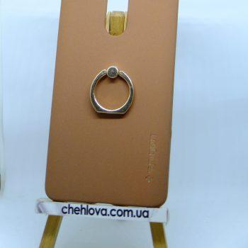 Чехол Spigen кольцо Xiaomi Redmi Note4 (Коричневый)