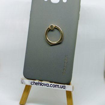 Чехол Spigen кольцо Samsung J710 (Серый)
