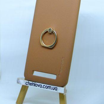 Чехол Spigen кольцо Lenovo A2020 (Коричневый)