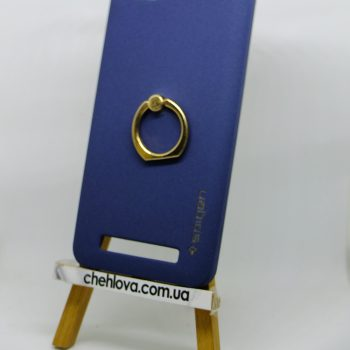 Чехол Spigen кольцо Lenovo A2020 (Синий)
