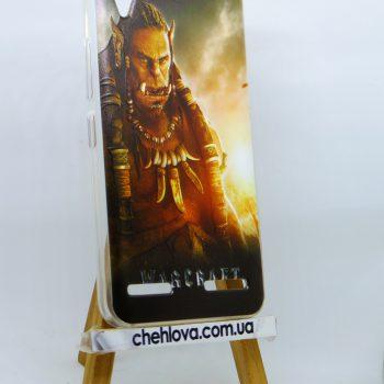 Чехол для Lenovo A6020/Vibe K5/K5 Plus Warcraft Durotan