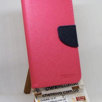 Чехол дляr Huawei Y7 (TRT-LX1) Goospery Fancy розовая