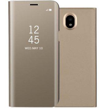 Чехол для Samsung  J3 2017 (J330) Clear View Standing Cover золотой