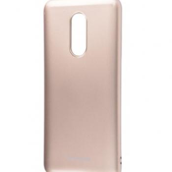 Чехол для Xiaomi Redmi 5 Plus Molan Cano Glossy Jelly золотой