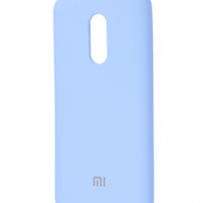 Чехол для Xiaomi Redmi 5 Plus Silicone Cover  (lilac cream)
