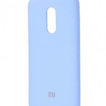 Чехол для Xiaomi Redmi 5 Plus Silicone Cover  (lilac cream)