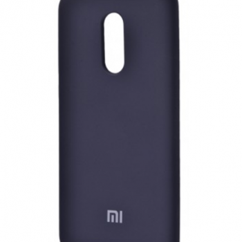 Чехол для Xiaomi Redmi 5 Silicone Cover (midnight blue)