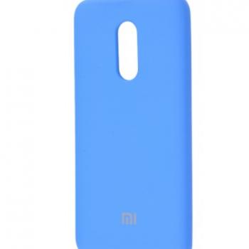 Чехол для  Xiaomi Redmi 5 Silicone Cover  (tahoe blue)