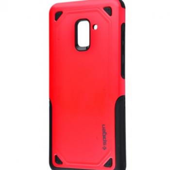 Чехол для Samsung Galaxy A8 2018 (A530F) (Spigen Case (PC+TPU) красный