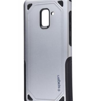 Чехол для Samsung Galaxy A8 2018 (A530F) (Spigen Case (PC+TPU) серый