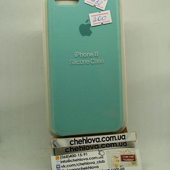 """Чехол для iPhone 7 """"Apple Silicone Case"""" (реплика)  тифани"""