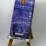 Накладка полиуретановая Fashion Jeans для Xiaomi Redmi 3s/ 3 Pro синяя