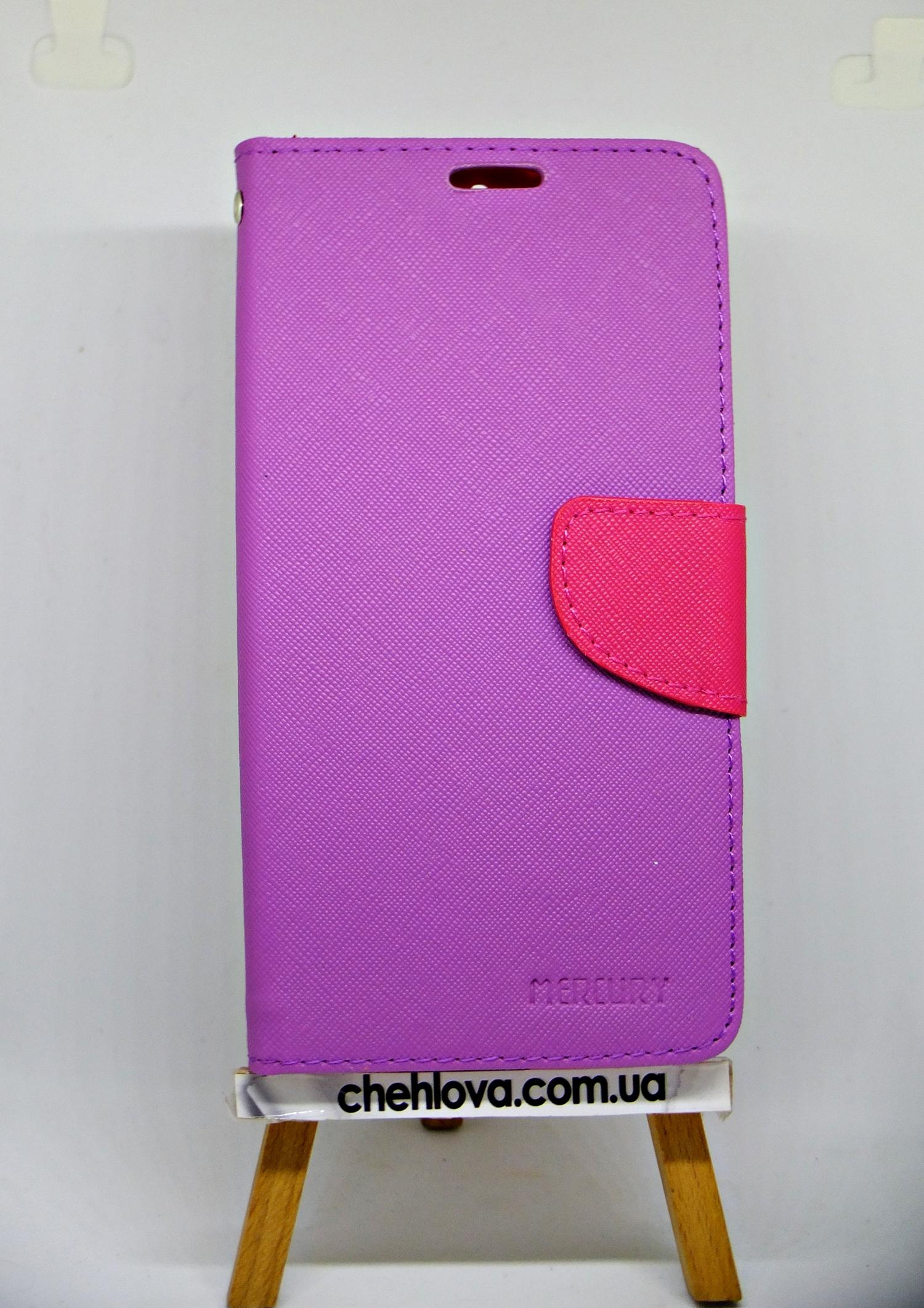 Чехол-книжка MERCURY Style LENOVO A7020 / K5 Note сиреневая