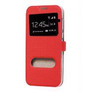Чохол-книжка для Huawei P10 Lite (WAS-LX1)   MODERN Style (окно) (Червоний)