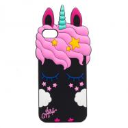 Накладка My Little Pony Unicorn для Iphone 6/6s чорна