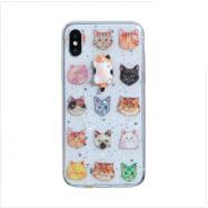 Чохол TPU 3D для Iphone Xs Max (Котики)