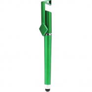 Ручка - стілус з підставкою для телефону (Зелена)