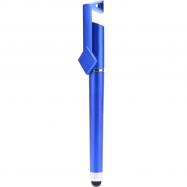 Ручка - стілус з підставкою для телефону (Синя)