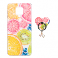 Чохол TPU Print with Ring для Xiaomi Redmi Note 9s/Note 9 Pro/Note 9 Pro Max Фрукти
