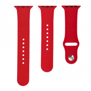 Ремінець 3 in 1 Bracelet для Apple watch 42 mm/44 mm Red