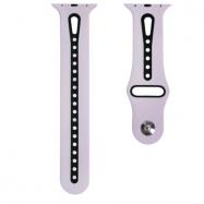 Ремінець Nike New Design для Apple watch 42/44 mm Lavander &Black