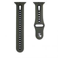 Ремінець Nike New Design для Apple watch 42/44 mm Khaki &Black