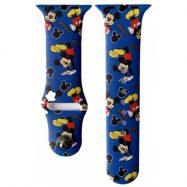 Ремінець CARTOON для Apple Watch 42/44 Mickey Mouse синій