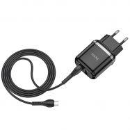 СЗУ Hoco N4 Aspiring Micro 2USB 2.4A EU